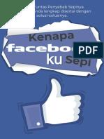 kenapa facebookku sepi