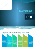 Chapter 02 Lawmaking Learning Outcomes