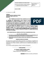 CITACION AUDIENCIA DE CONCILIACION CONVOCANTE (3)