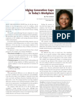 Diversity Journal   Bridging Generation Gaps in Today's Workplace - Mar/Apr 2010