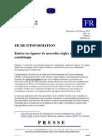 UE adoption règles comitologie 1er mars 2011
