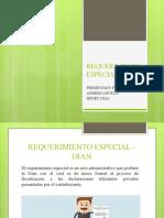 REQUERIMIENTO ESPECIAL - DIAN
