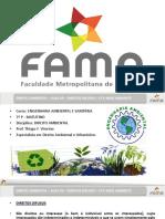 2016-1 - Aula 03 - Direito Ambiental - Direitos Difusos - Cf e Meio Ambiente 29-02-2016