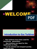 Gas turbine power plant presentation