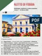 Il Dialetto Di Foggia N.4 Del 13-03-2021