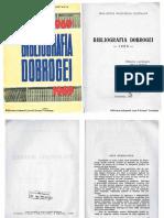 Bibliografia Dobrogei 1969