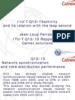 ITU-T Standards for Mobile Transport Profiles