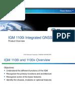 IGM Product Training
