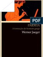Werner Jaeger - Paideia, a formação do homem grego