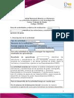 Guía de Actividades y Rúbrica de Evaluación - Unidad 2 - Momento 2 - Identificar Las Estructuras y Características de Las Opciones de Grado