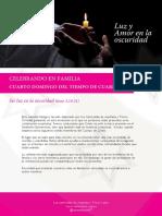 Celebrando en Familia - 4 Domingo - Tiempo de Cuaresma - B - Carmelitas