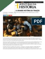 Aventuras Na História · Igreja de Judas_ a Grande História Da Traição