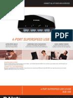 D-Link USB 3.0 Hub - DUB-1340