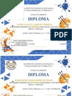diploma dibujo