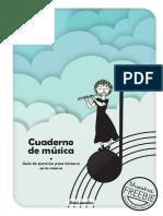 cuaderno de musica gratis