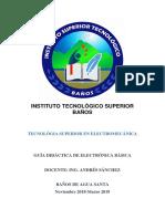 GUIA DIDACTICA ELECTRÓNICA BÁSICA