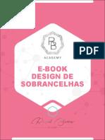 E-book Design de Sobrancelhas
