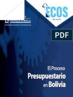 Cartilla- Proceso Presupuestario en Bolivia 2017