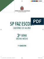 3ºAno - Caderno Do Aluno - Volume 1