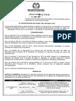 Resolución 2098 del 12 de marzo del 2021