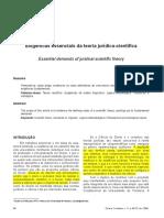 Arnaldo Vasconcelos - Exigências da Teoria Jurídico-Científica