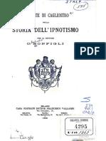 C. Bonfigli - Il Conte di Cagliostro nella storia dell'ipnotismo