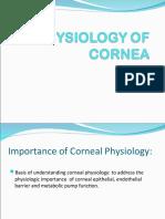 Cornea Physiology
