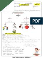 C.I LA COMUNICACION 4TO
