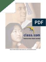 Class.com overview_2-25-09