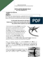 4- El mounstruo del Lago Ness