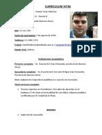 Curriculum Vitae (Medios)