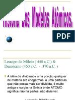 SLIDES - MODELOS ATÔMICOS