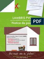 Notice-de-pose faux plafond pvc