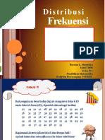 Distribusi Frekuensi; ICT