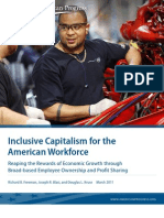 Inclusive Capitalism for the American Workforce