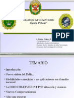 Delitos informaticos, optica policial