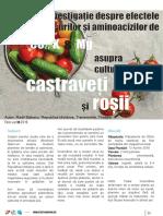 Investigatie Despre Efectele Gansurilor Si Aminoacizilor