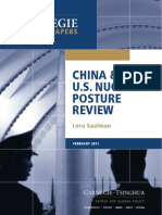 China and the U.S. Nuclear Posture Review