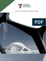 School of Architecture, Building and Design Prospectus 2011