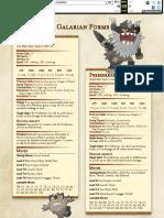 Pokemon 5e - Galarian Forms
