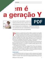 artigo geração Y