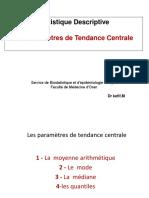 3-Les Parametres de tendance centrale (1)