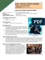 Mission Report Feb 2011