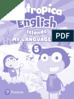 Poptropica English Islands My Language Kit 5