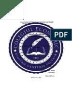 Lucrare Certificare Calificare Profesionala 2020 Olariu Daniel Constantin 12l