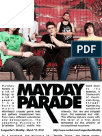 Songwriter's Monthly March '11, #134 - Mayday Parade