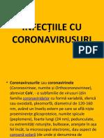 INFECȚIILE CU CORONAVIRUSURI
