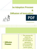 Session 9 - Consumer &  Diffusion of Innovation
