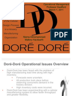Operations - Dore Dore
