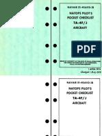 A4 NATOPS PocketCheckList